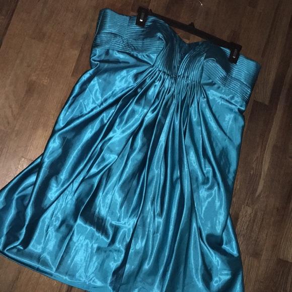 Cinderella Dresses Plus Size Strapless Teal Dress Poshmark